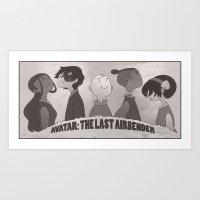 atlaadventuretime Art Print