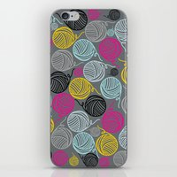 Yarn Yarn Yarn Yarn Yarn iPhone & iPod Skin