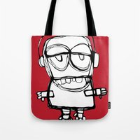 Little Brother Is Watchi… Tote Bag