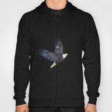Bald eagle in flight Hoody
