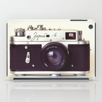 Zorki vintage camera iPad Case