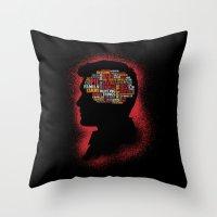 Dean's Phrenology Throw Pillow