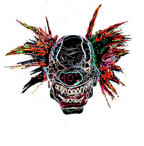 Psychedelic Clown Art Print