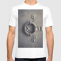 Doors In Salzburg 2 Mens Fitted Tee White SMALL