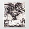 UN DÍA CON EL DIABLO Canvas Print