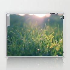 green gras bokeh 1b Laptop & iPad Skin