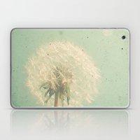 Dandelion Clock Laptop & iPad Skin