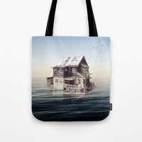 Home On The Water Tote Bag