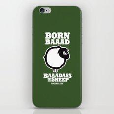Baaadass the Sheep: Born Baaad iPhone & iPod Skin