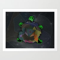 Shellous? Art Print