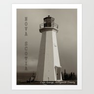 Cape George Art Print