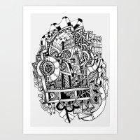 Estanterías Art Print