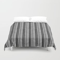 Herringbone Stripe Duvet Cover
