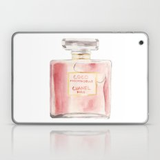 Chanel Mademoiselle Perfume Bottle Laptop & iPad Skin
