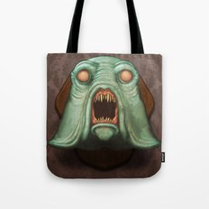 Swamp Alien Tote Bag