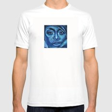 erykah?!../alternative-blue/ Mens Fitted Tee White SMALL