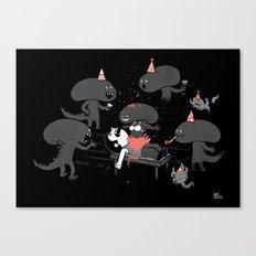 Surprise!!! Canvas Print