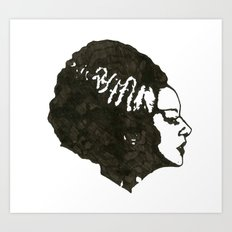 The Mrs. Art Print