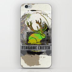 fearsome critter iPhone & iPod Skin