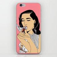 Dita Von Teese iPhone & iPod Skin