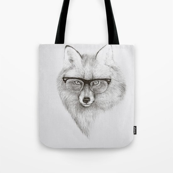 Fox Specs Tote Bag