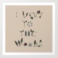 I Went To The Woods Art Print