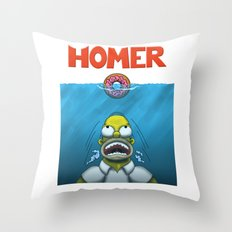 HOMER Throw Pillow
