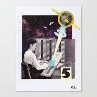 Faith Or Reason No. 5: T… Canvas Print