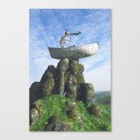 Marooned Canvas Print