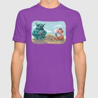 Death Of The Imagination Mens Fitted Tee Ultraviolet SMALL