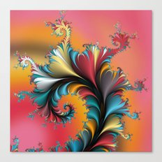 Fractal Reflections Canvas Print