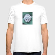 Bella Mens Fitted Tee White SMALL