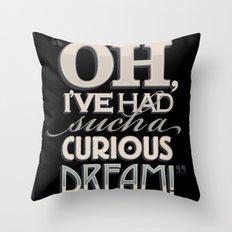 Curious Dream Throw Pillow