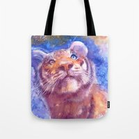 Waiting For The Stars (t… Tote Bag
