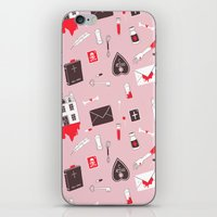 HAUNTED HOUSE (PINK VER) iPhone & iPod Skin