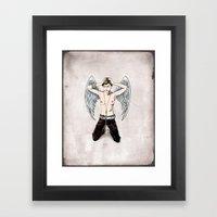 Sweet Surrender Framed Art Print