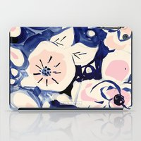 Midnight Moonflower iPad Case