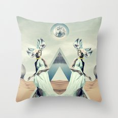 Crystalfilm Throw Pillow