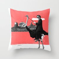 Lone Ranger Throw Pillow