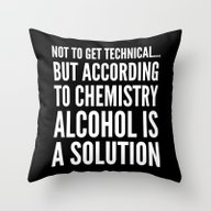 NOT TO GET TECHNICAL BUT… Throw Pillow