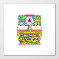 All Your Dirty Little Secrets Canvas Print