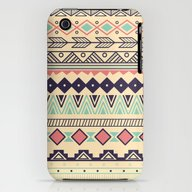 iPhone & iPod Case featuring Aztec Pattern 02 by BlueLela