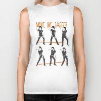 Move Like Jagger (MOVE L… Biker Tank