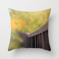 Back Yard -  Claude Mone… Throw Pillow