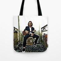 Eddie Vedder   Oil Paint… Tote Bag