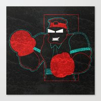 Boxing Gloves Canvas Print