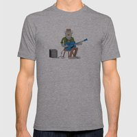 Werewolf Blues Mens Fitted Tee Athletic Grey SMALL