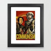 Communism! Framed Art Print
