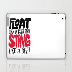 Muhammad Ali: Float Like a Butterfly Sting Like a Bee Laptop & iPad Skin