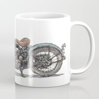 1929 Indian Motorcycle Mug